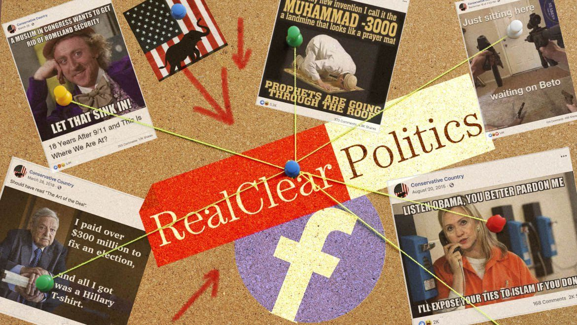 RealClear Media Has a Secret Facebook Page to Push Far-Right Memes